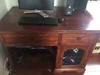 Sheesham Wood Computer Desk