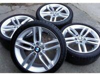 "Original OEM BMW 18"" Alloy Wheels M386 Style"