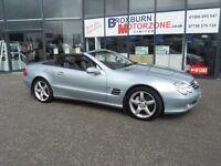 2003 03 MERCEDES-BENZ SL 5.0 SL500 2d AUTO 306 BHP FREE 12 MONTHS MOT **** GUARANTEED FINANCE ****
