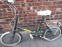 Vintage halfords bike