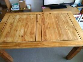 Solid wood dining table REDUCED.