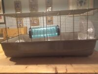 Extra large cage for hamsters, gerbils etc with tunnels and wheel