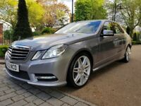 MERCEDES BENZ E350 CDI SPORT PADDLE SHIFT AUTO FULL SERVICE HISTORY SAT-NAVILONG BI XENON LIGHTS