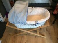 Mama's And Papa's Moses Basket