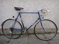 Sun Solo retro road bike 27 inch wheels 10 gears 25 inch frame