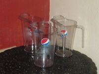 3 LARGE PLASTIC PEPSI JUGS GREAT FOR SUMMER PARTIES BBQ'S WEDDINGS