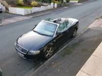 Audi A4 1.8t convertible 04 plate