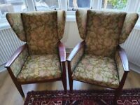 Parker knoll armchairs for reupholstering pk988-1024
