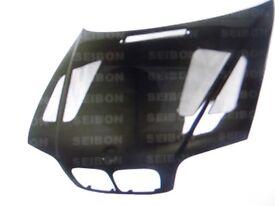 CARBON FIBRE BONNET FOR BMW E46