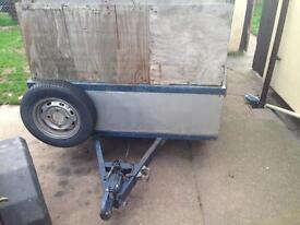 Heavy duty pull trailer 4wheeler