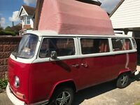 Amazing VW 1971 tax free camper owned 19 yrs