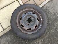 Ford Fiesta Vauxhall Corsa C Combo 4 Stud Wheel Tyre 155/70/13