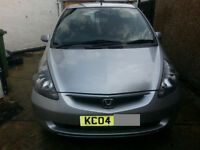 HONDA JAZZ 1.4 AUTOMATIC 2004 MODEL ,1 YEARS MOT .TOYOTA .CIVIC