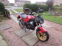 Gilera dna 50cc motorbike