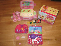 Early Learning Centre Mini Sizzlin' Kitchen and other ELC and Peppa Pig toys
