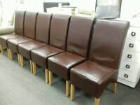 Lovely brown leather chair