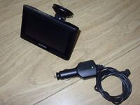 Garmin Nuvi 57LM GPS Sat Nav With In Car SatNav Charger - Large Screen - Excellent Condition