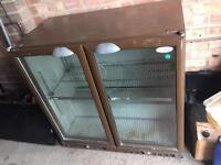 Chiller cabinet pub undercounted beer wine fridge