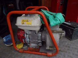 "Portable, GX120 Honda Powered, Clarke CH2E, 2"" Petrol Powered Semi-Trash Water Pump"