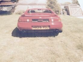 TOYOTA MR 2 SPORT CAR IN RED WELL LOOKED AFTER NEW STARTER MOTOR MANUAL