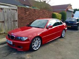 BMW E46 3 Series 320cd 320d Auto Red