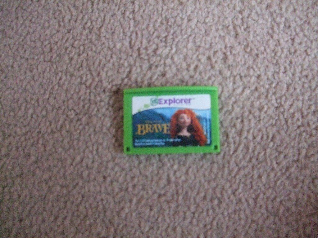 Leap Frog Leap Pad Disney Brave game
