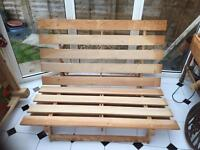 Ikea futon double bed sette frame