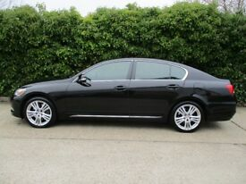 LEXUS GS450h HYBRID 2008 FULL LEXUS MAIN DEALER SERVICE HISTORY FROM NEW, 15 STAMPS IN SERVICE BOOK.