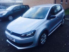 2014 Volkswagen Polo S60 1,2 petrol , 12 MOT, Full service history , £4100
