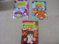 3 moshi monster activity books