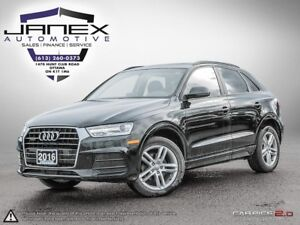 2016 Audi Q3 2.0T Komfort ACCIDENT FREE | HEATED LEATHER SEAT...