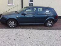 VW golf gt tdi 1.9 pd very economical car for sale