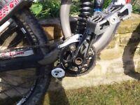 Trek session 88 downhill mountain bike