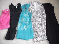 BUNDLE OF LADIES ASSORTED TOPS/BOUSES