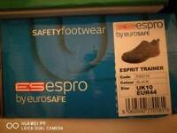 Safety trainers size 10/ Eur 44 new