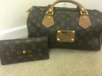 Louis Vuitton speedy 360 with purse