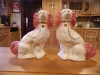 2 Matching Staffordshire Dogs