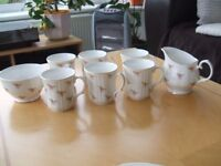 14 piece China Coffee Set