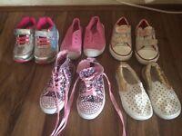 Toddler shoes bundle size 8