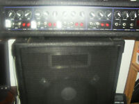 Vox 120W pa amp and matching speakers