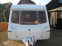 2004 abbey 2 berth caravan in very good condition