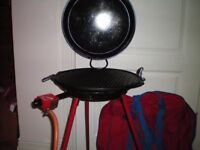 Beauclaire Cast Iron Gas BBQ