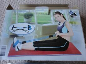 york 250 sit up bench. fitness trainer - resistance band (new) york 250 sit up bench
