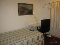 Short let room- rent £100 per week including all bills- QUIET ROOM