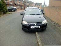 Vauxhall corsa design 1.2 (53) reg gloss black