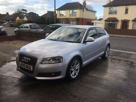 Audi A3 2.0 TDI sport 3dr Full service history 2 owners from new, excellent condition