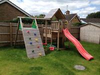 """Climbing Frame """"JungleGym Cubby""""+ Climb&Swing module to collect in Cheltenham"""