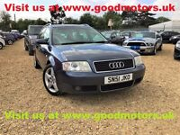 2001 Audi A6 SE 2.5TDi 152Bhp Estate*Full leather*Climate /Crusie control*Radio/6CD chganger...