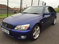 LEXUS IS200 SPORT LOW MILEAGE IN IMMACULATE CONDITION