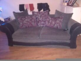 Lovely 3 and 2 seater couches